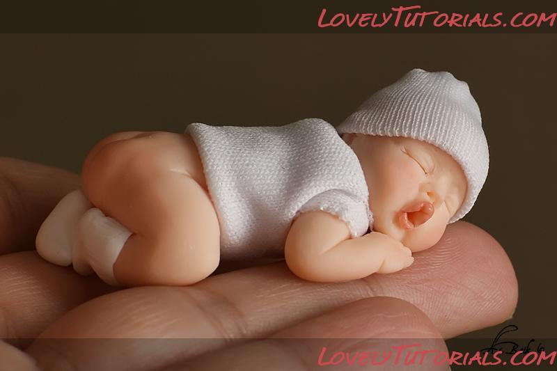 Малыш из полимерной глины своими руками